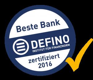 DEFINO Siegel Beste Bank 2016-05-04_neu