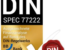 Die BBBank eG wird für ihre hohe Qualität in der Finanzanalyse im Privatkundengeschäft ausgezeichnet