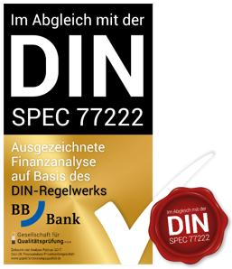 BBBank Ausgezeichnet Privatkundengeschäft