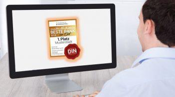"""Bestenliste 2018 (Q1 2018): die """"Besten Banken vor Ort"""""""