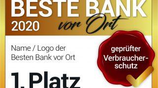 """Wichtige Änderungen im Test """"BESTE BANK vor Ort 2020"""":  Der einzige Bankentest nach DIN 77230"""