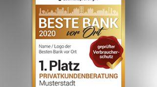 """Bankentest im Jahr 2020: """"Geprüfter Verbraucherschutz"""" nach DIN 77230"""