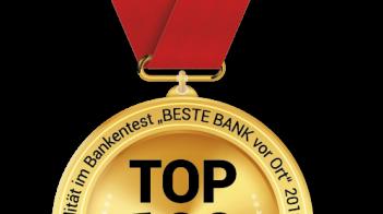"""BESTE BANK vor Ort 2019: Die """"Top 100"""" stehen fest!"""